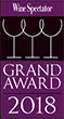 Logo Wine Spectator Grand Award 2018