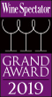Logo Wine Spectator Grand Award 2019